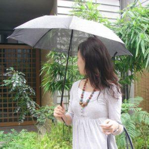 スパッタリング 日傘