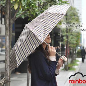 レインボー 折りたたみ 雨傘
