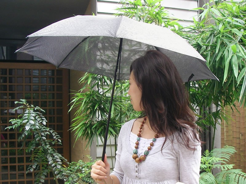 ヌーベル  スパッタリング 200g 日焼け 遮光 遮熱 紫外線 軽量 UVカット 折りたたみ 日傘 人気 入荷