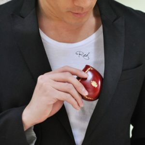 【peroni(ペローニ)】イタリア製 本革 22金 刻印入り 馬蹄型 小銭入れ コインケース