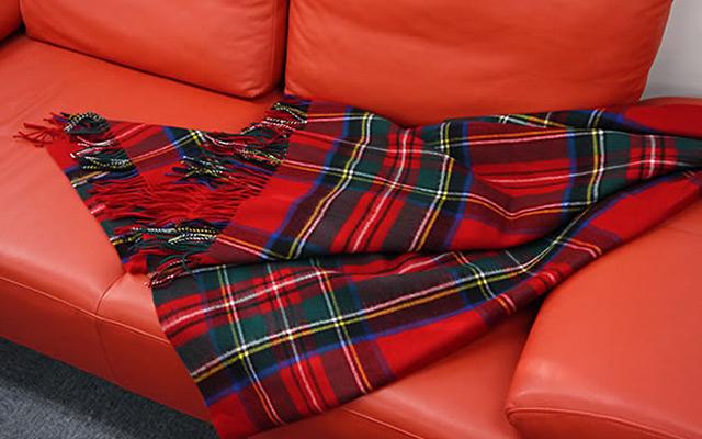 【Lochcarron of Scotland】ロキャロン社・ブランケット・ラグ