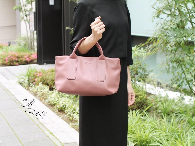 【FRANCO FERRARO】シンセティックレザーミニハンドバッグ