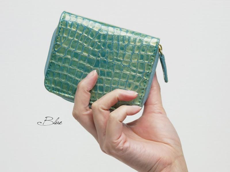 【MADERA】イタリアンエナメルレザー二つ折り財布