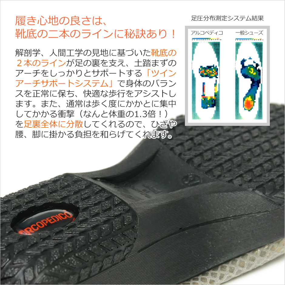 【ARCOPEDICO】<L'LINE>バレリーナ リザード1 詳細
