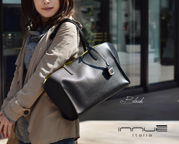 【innue】サフィアーノレザートートバッグ