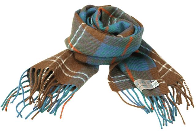 【Lochcarron of Scotland(ロキャロン オブ スコットランド)】ラムズウール100%マフラー<エイシャントチザムハンティング>