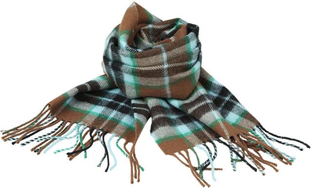 【Lochcarron of Scotland(ロキャロン オブ スコットランド)】ラムズウール100%マフラー<エイシャントハンティングトンプソン>