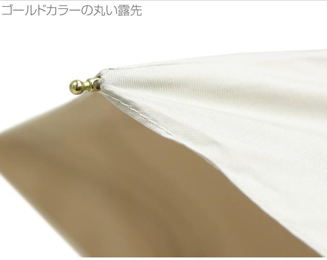 【CarronSelect】リボンレースエンブロイダリー晴雨兼用折りたたみミニスリム日傘 詳細