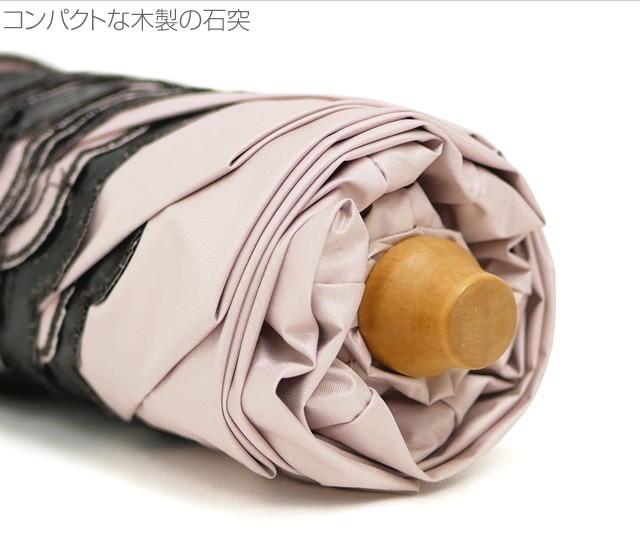 【CarronSelect】フラワーエンブロイダリー晴雨兼用折りたたみミニ軽量日傘 詳細