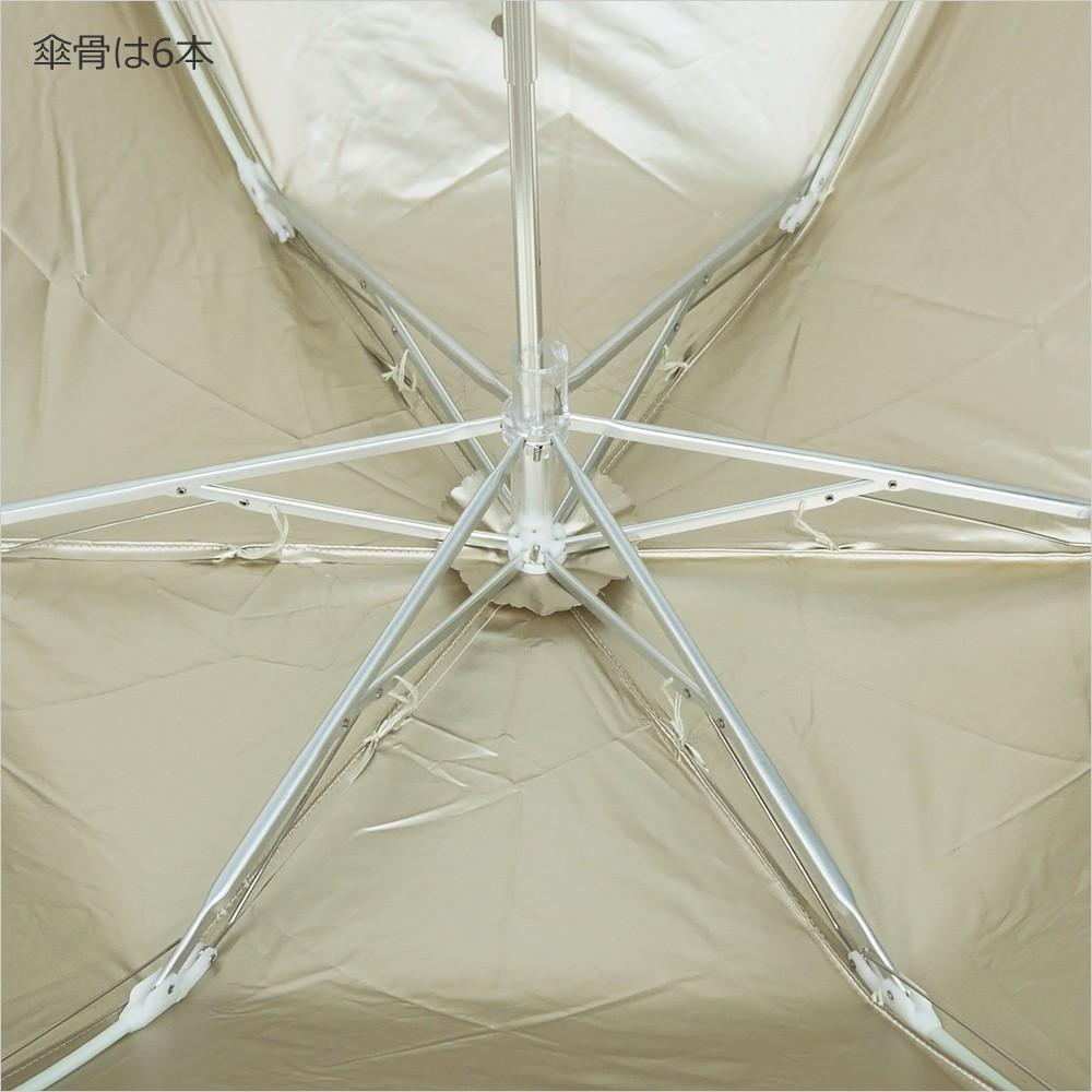 【CarronSelect】フラワーボーラーエンブロイダリー晴雨兼用折りたたみ日傘 詳細