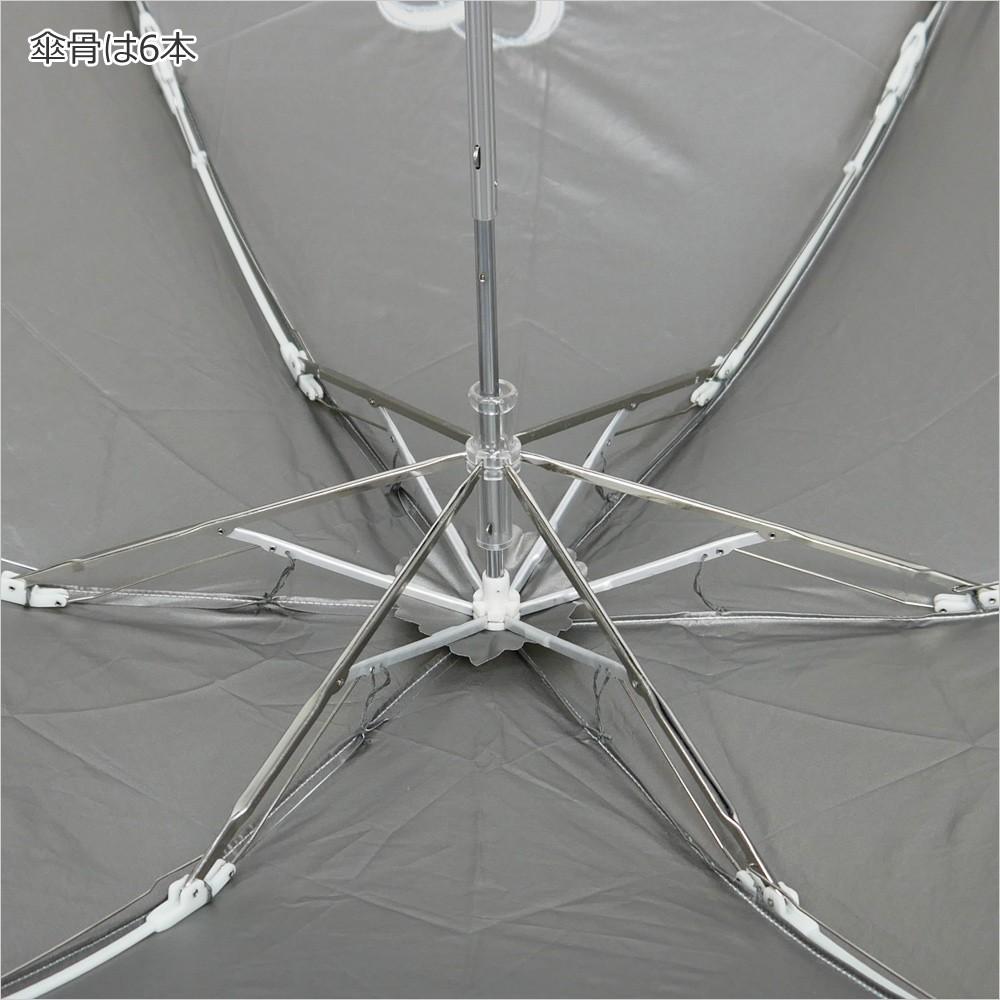 【CarronSelect】オーガンジーリボンエンブロイダリー晴雨兼用折りたたみ日傘 詳細