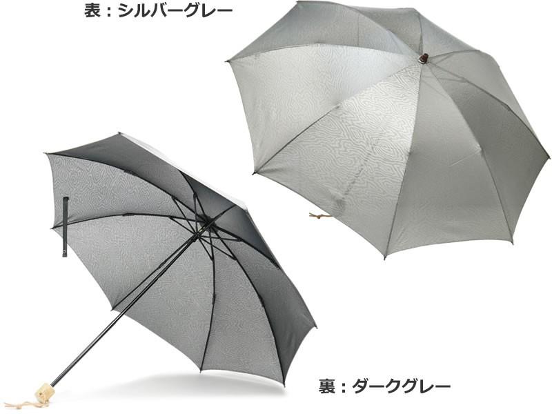 スパッタリング日傘 ブラック