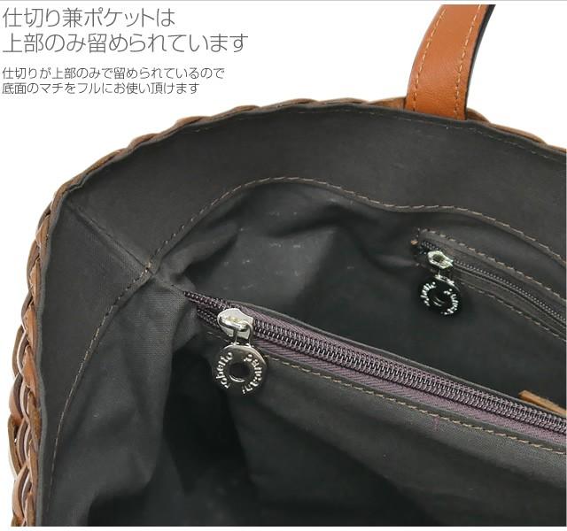 【roberto pancani】メッシュカーフレザースクエア型ショルダートートバッグ<ルイーザ>   詳細