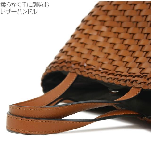 【roberto pancani】メッシュカーフレザーラウンド型かごバッグ<ジーナ>   詳細