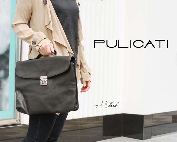 イタリア【PULICATI(プリカッティ)】イタリアブリーフケース