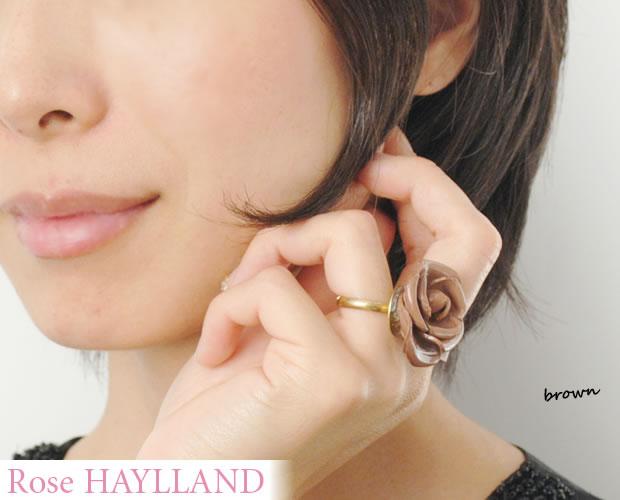 【ROSE HAYLLAND】 ナチュラルリング <野ばら>