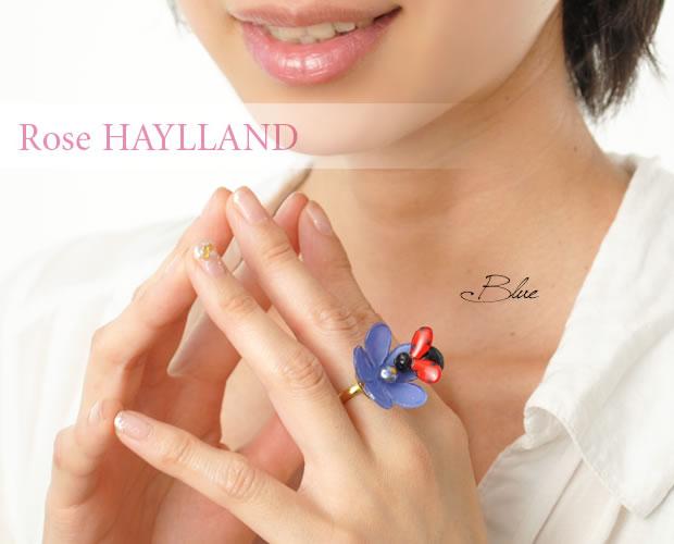 【ROSE HAYLLAND】レディバードナチュラルリング