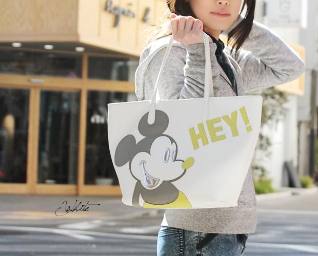 ミッキーマウスフィギュアトートバッグ