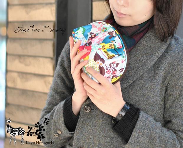 【KayoHoraguchi(カヨホラグチ)】 シェル型 コスメポーチ