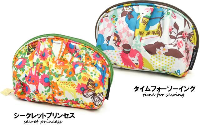 【KayoHoraguchi(カヨホラグチ)】 シェル型 コスメポーチ 色展開2