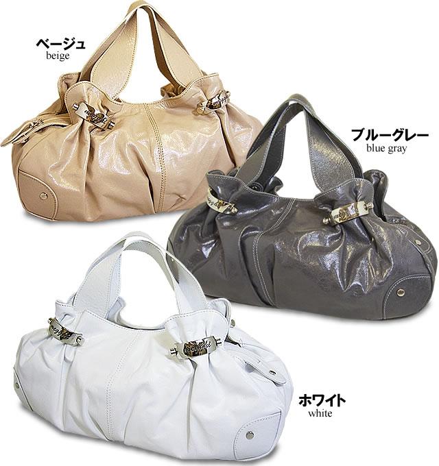 ギャザーハンドバッグ