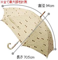 犬(イヌ)柄、猫(ネコ)柄の日傘・傘