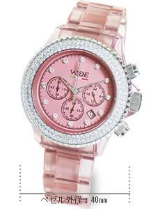 VABENE(ヴァベーネ) スケルトン×スワロフスキー腕時計