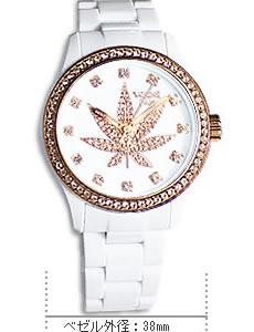 VABENE(ヴァベーネ) スカル腕時計サイズ